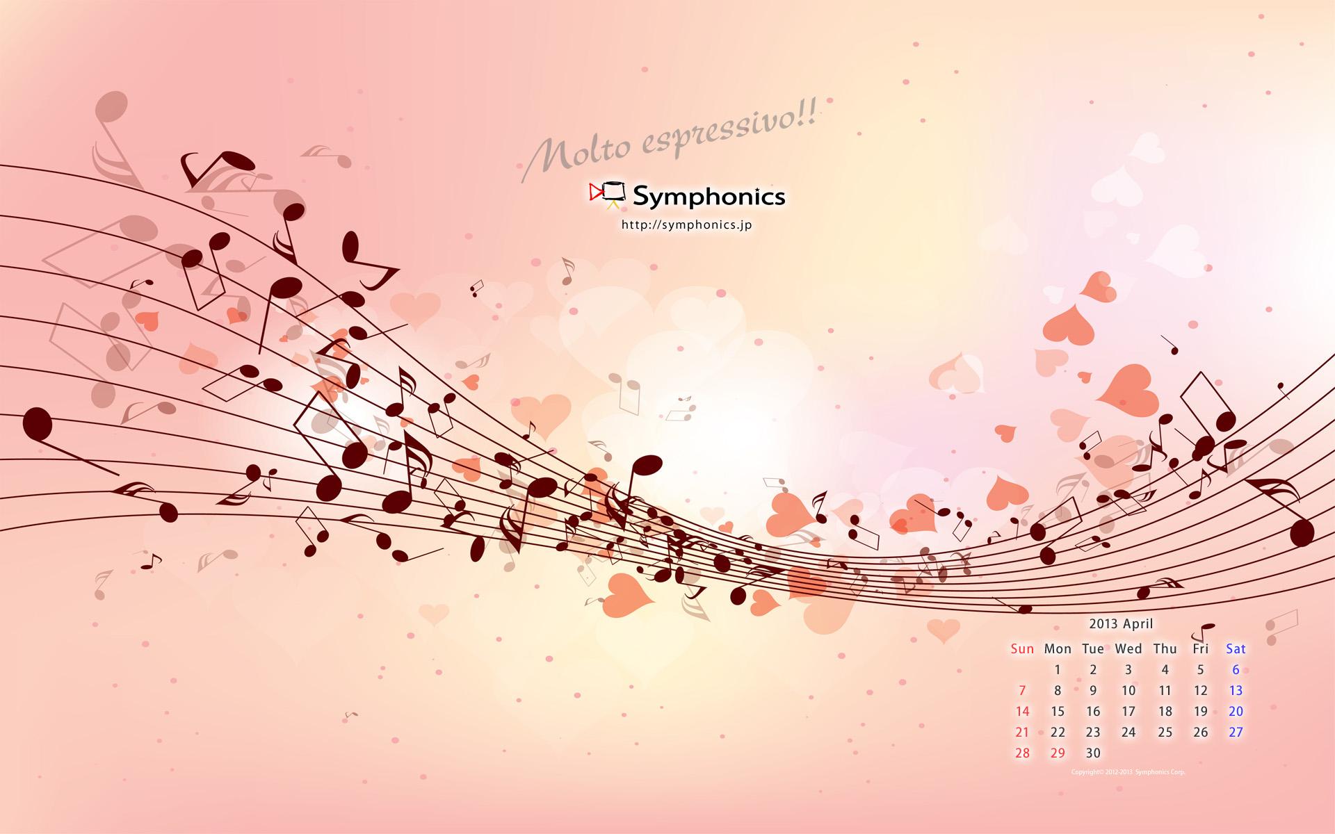 Symphonics シンフォニクス株式会社 映像制作 技術 オーケストラ コンサートdvd ビデオ撮影 4月のsymphonics壁紙