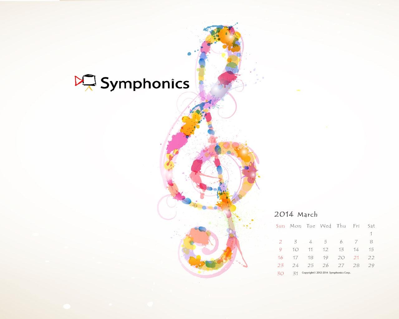 Symphonics シンフォニクス株式会社 映像制作 技術 オーケストラ コンサートdvd ビデオ撮影 14年3月のsymphonics壁紙