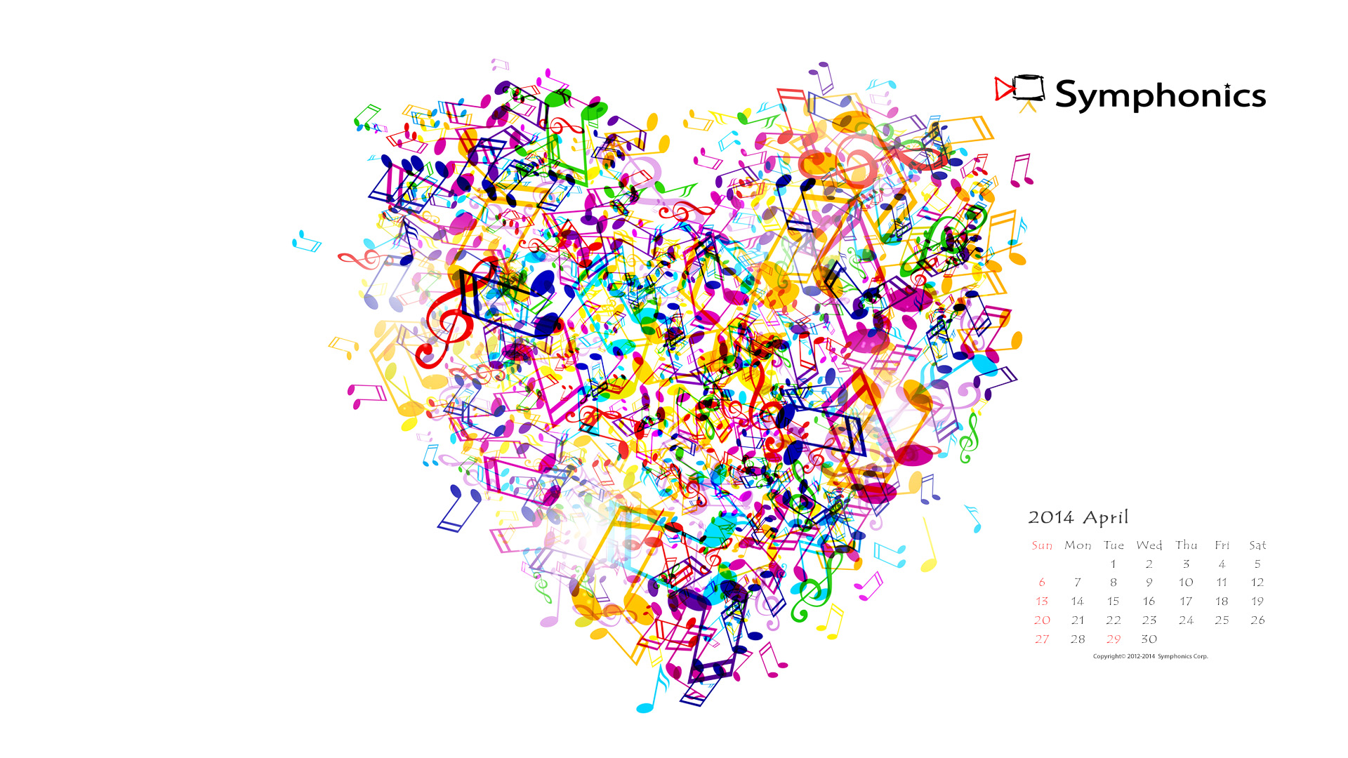 14年4月のsymphonics壁紙 Symphonics シンフォニクス株式会社 映像制作 技術 オーケストラ コンサートdvd ビデオ撮影