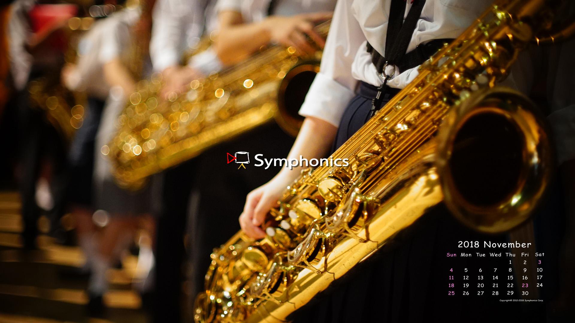 Symphonics シンフォニクス株式会社 映像制作 技術 オーケストラ コンサートdvd ビデオ撮影 18年11月のsymphonics 壁紙